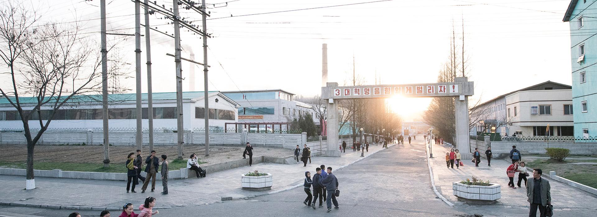Reisen nach Nordkorea - Individuelle Reisen nach Nordkorea- Harry Kolb AG - Tourismus